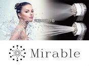【レディースエリア限定】ミラブルシャワーヘッド/お湯が肌に浸透し、潤いを長く保ちます。 ※イメージ