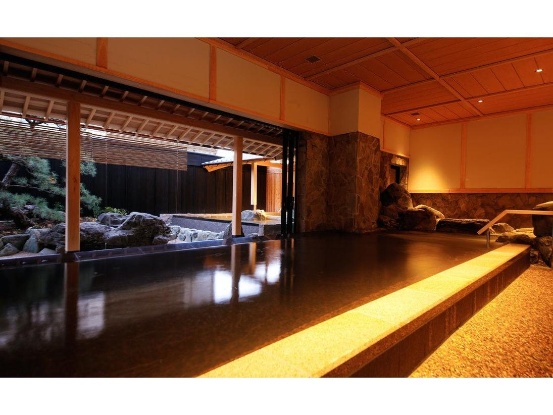 温泉大浴場「庭の湯」(浜離宮本館内)