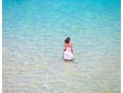 八重山諸島の海は透明度が抜群です