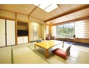 【安らぎ館】和室 渓流側 和室12畳の純和風客室
