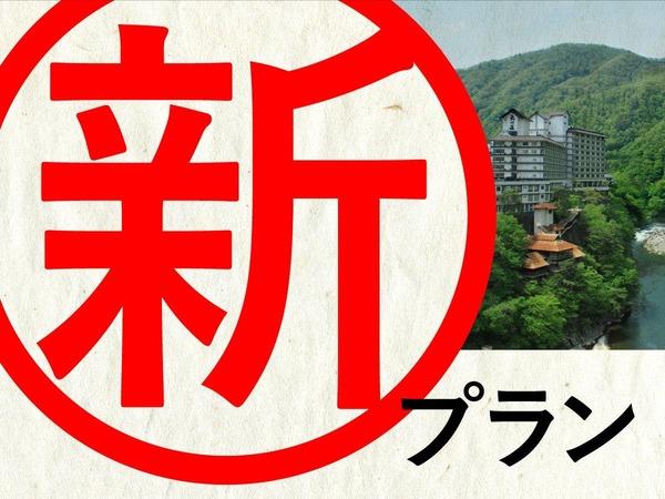 大川荘より新プランの登場です!
