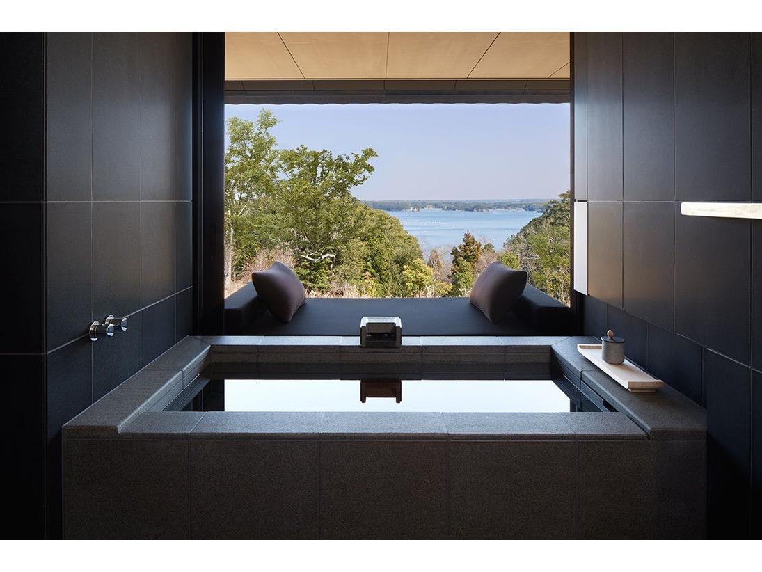 ソラスイート バスルーム(温泉風呂)