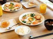 【朝食】盛り付け例2
