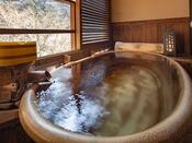 【露天風呂付スイート】湯原温泉郷の自然に抱かれ、温泉を独り占め…。贅沢な休日を満喫♪