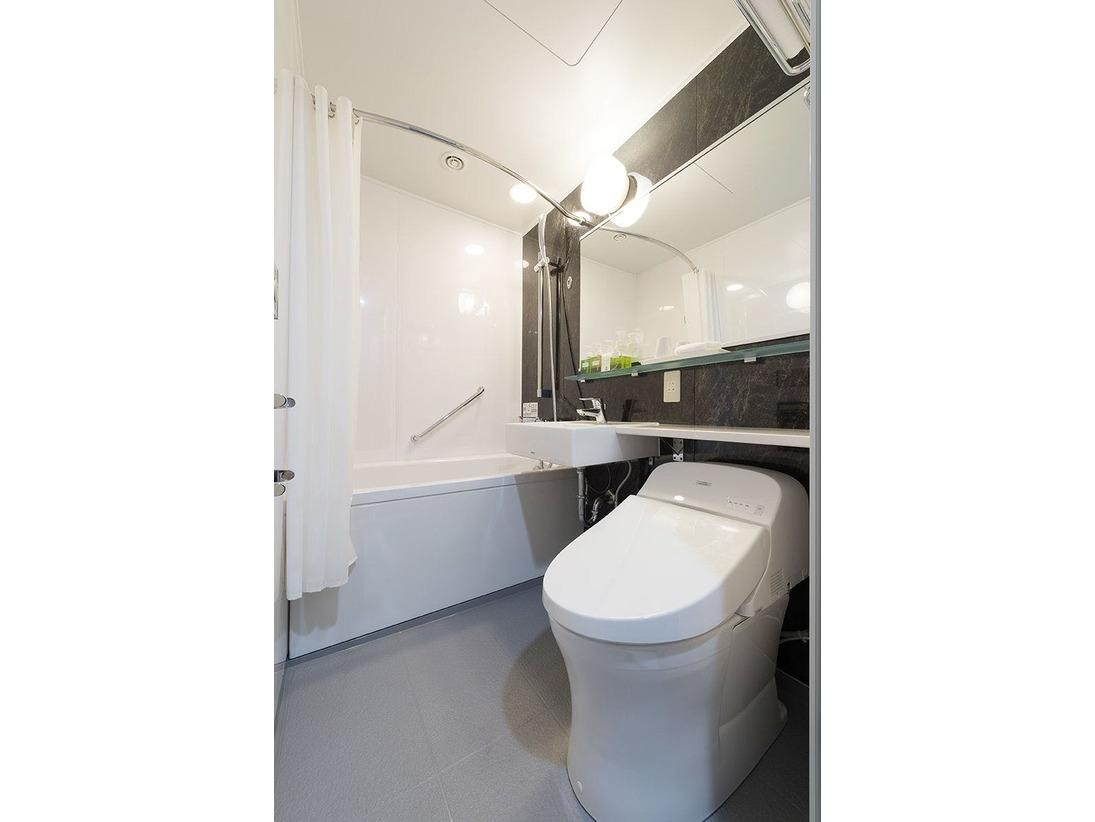 【バスルーム】スタンダードフロアはユニットバスをご用意