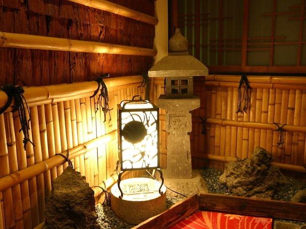 館内の行灯