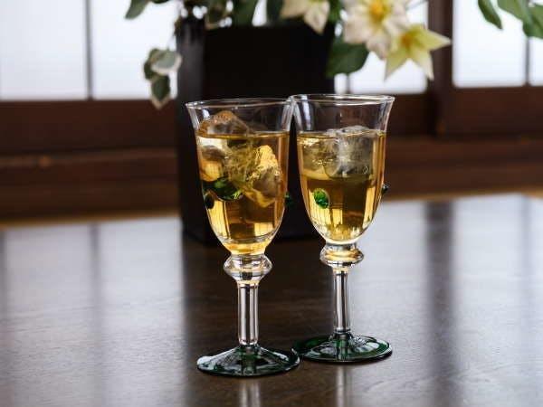 「秋間梅林」で取れた梅で作った梅酒
