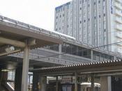 JR刈谷駅から。