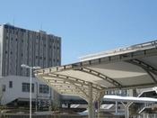 刈谷駅北口にはセントレア行きの直行バスが出ております。