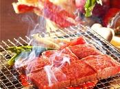 【古窯特別会席】貴賓室プラン限定の米沢牛の炭火焼をメインとした和食コース料理