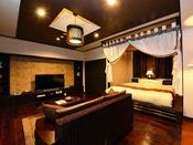 セミスイートルーム285号室。各種アメニティを備えており、ワンランク上のご滞在をお楽しみ頂けます。