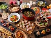 夕食【秋限定】山梨の季節をご堪能下さい