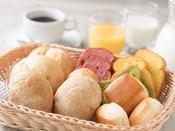 朝食【通年】自慢の桐生酵母を使用した天然酵母パン♪