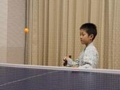 【卓球】営業時間09:00~22:00(21:00最終)1回50分・ご宿泊者1020円です。温泉といえばやっぱり卓球!皆様でお楽しみください。
