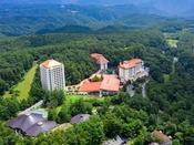標高1200メートルの広大な自然に広がるホテルヴィレッジ