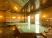 【温泉大浴場男性浴場】名湯草津の温泉をお楽しみください。