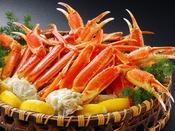 【蟹】毛蟹・タラバ蟹・ずわい蟹など様々。宴会の規模に合わせて是非どうぞ♪