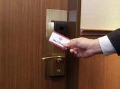 全室 非接触式カードキー