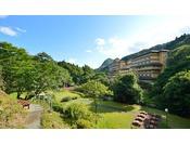 【夏】大自然庭園は約4万坪!豊沢川が流れる愛隣館の庭園は散策スポットがいっぱい♪