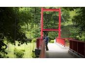 大自然庭園は約4万坪!豊沢川が流れる愛隣館の庭園は散策スポットがいっぱい♪