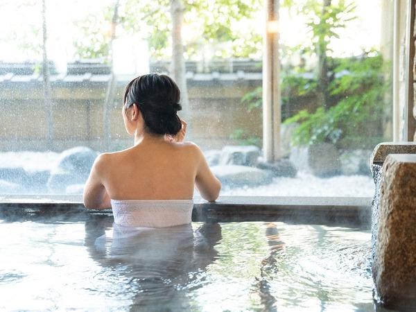 【大浴場・内湯】道後温泉の引き湯