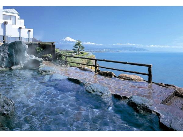 富士眺望露天風呂「しぶきの湯」イメージ