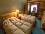 【別棟ログハウス寝室】和洋室タイプ一例