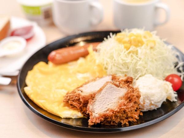 スペシャル洋朝食A(スクランブルエッグ)