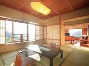 蔵王国際ホテル随一のデラックスなお部屋が特別室です。