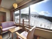 ◆【南館和室】/蔵王の山々を一望できるとても眺めの良い、リピーター様にとても人気のお部屋です。