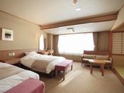 ◆【和洋室】ベッドの洋室も、畳の和室も楽しめる和洋室です。