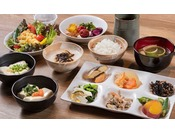 【朝食】盛り付けイメージ / 和食