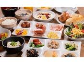 【朝食】盛り付けイメージ / 和洋食