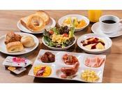 【朝食】盛り付けイメージ / 洋食