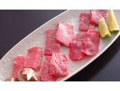 追加料理「岩手牛5種盛り(前沢牛、胡四の牛王、短角牛、岩手牛、きたかみ牛)」」※1人前 3,240円
