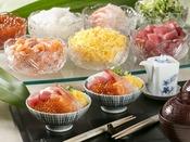 【王様のビュッフェ朝食】お好み海鮮丼