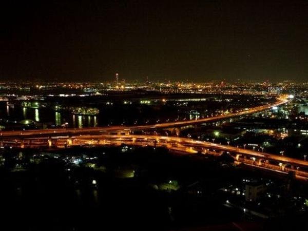 客室からの眺め・ベイエリアの夜景