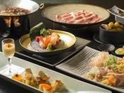 冬の贅沢鍋お食事イメージ
