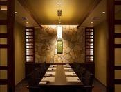 『倶楽部ダイニング十勝』には個室もあり、ごゆっくりとお食事が楽しめます