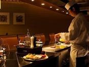 『鉄板焼 樹氷』 吉田総料理長自慢のお献立と、目の前で焼き上げるライブ感をご堪能ください