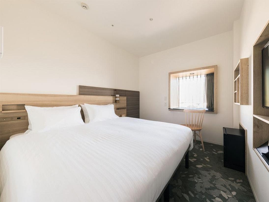 ・部屋広さ…16m2・宿泊人数…1~2名・ベッド幅…160cm