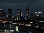 【客室】景色 一部東京タワーがご覧いただける部屋がございます。