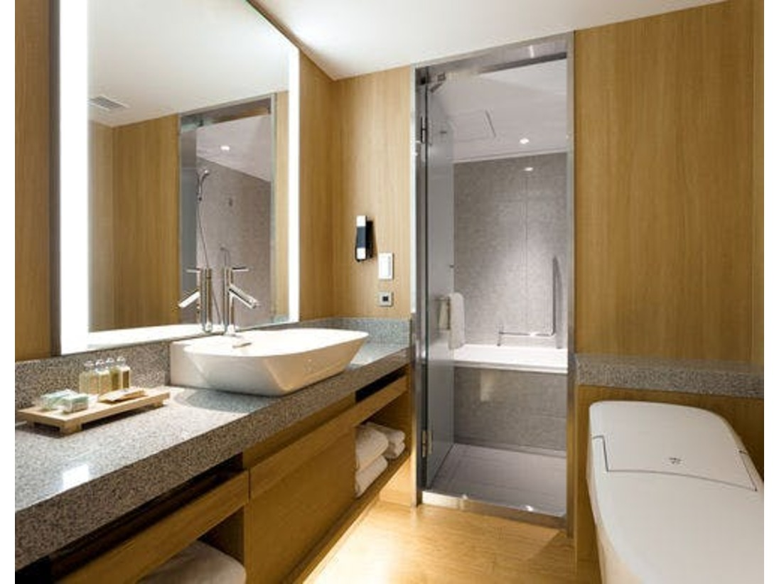 改装デラックス・ツイン/ダブルのバスルーム