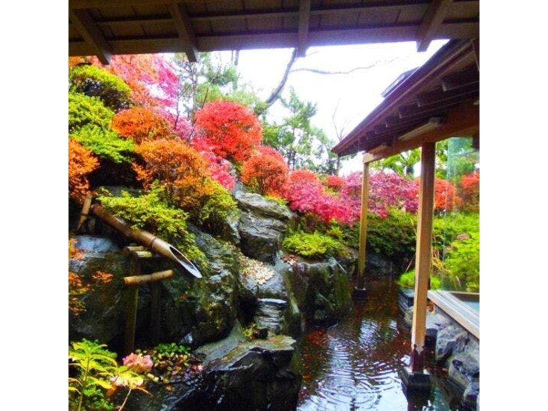 1階特別室の庭園