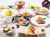 【季節の会席:一例】北陸・若狭の季節の食材を会席でご堪能下さい。