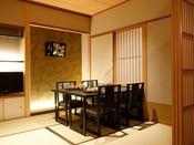 【リニューアル客室】9F温泉露天風呂付き特別室ダイニングルーム