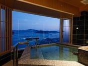 【新客室】8F特別室温泉露天風呂