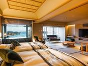 6階温泉露天風呂付き特別室(部屋食)