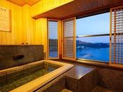 【リニューアル客室】9F特別室バリアフリー温泉露天風呂