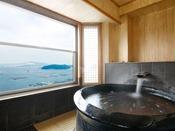 【リニューアル客室】9F特別室温泉露天風呂